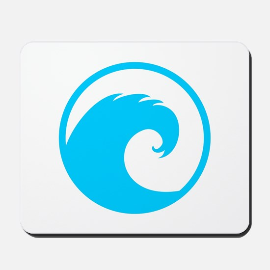 Ocean Wave Design Mousepad