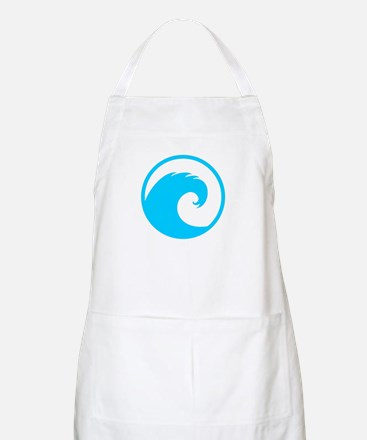 Ocean Wave Design Apron