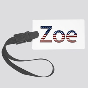 Zoe Stars and Stripes Large Luggage Tag