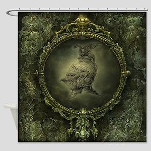 Knight Fantasy Shower Curtain