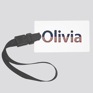 Olivia Stars and Stripes Large Luggage Tag