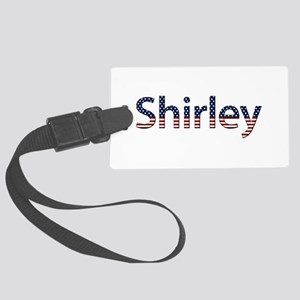 Shirley Stars and Stripes Large Luggage Tag