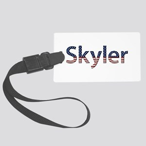 Skyler Stars and Stripes Large Luggage Tag