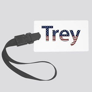 Trey Stars and Stripes Large Luggage Tag