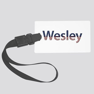 Wesley Stars and Stripes Large Luggage Tag