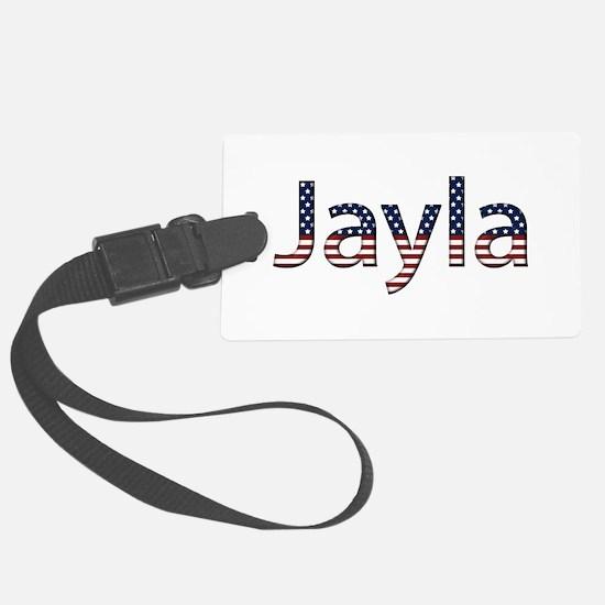 Jayla Stars and Stripes Luggage Tag