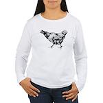 Chicken Women's Long Sleeve T-Shirt