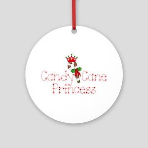 Candy cane princess Ornament (Round)