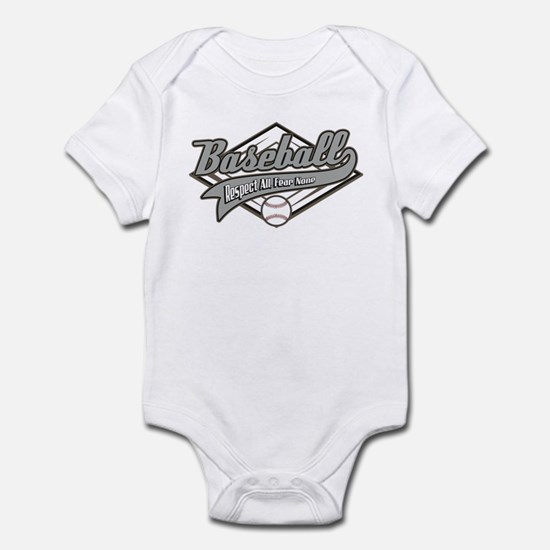 Baseball Respect All Infant Bodysuit