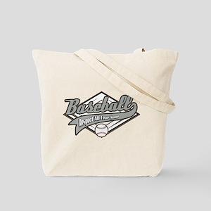 Baseball Respect All Tote Bag