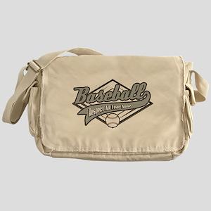 Baseball Respect All Messenger Bag