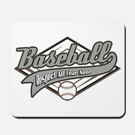 Baseball Respect All Mousepad
