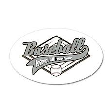 Baseball Respect All Wall Decal
