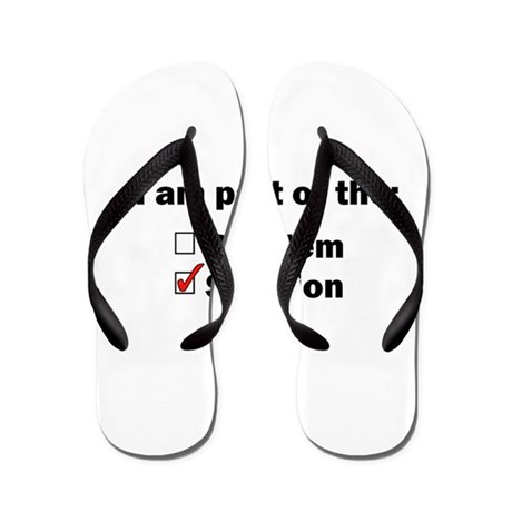 Be Part of the Solution! Flip Flops