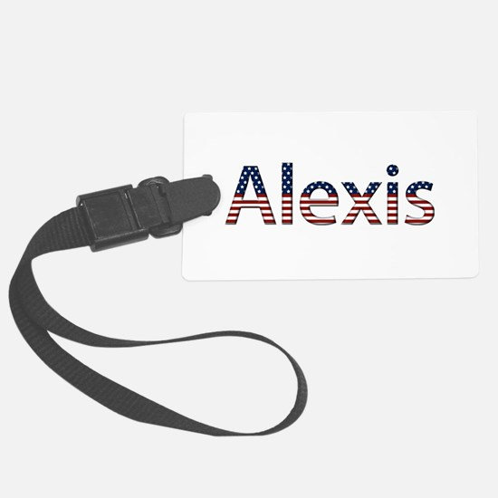 Alexis Stars and Stripes Luggage Tag