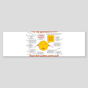 Climate Change Sticker (Bumper)