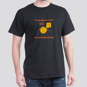 Climate Change Dark T-Shirt