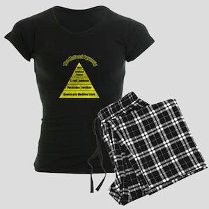 The McFood Pyramid Women's Dark Pajamas