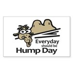 Everyday Should Be Hump  Sticker (Rectangle 50 pk)