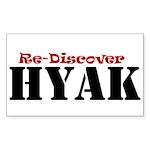 rediscover Sticker (Rectangle 10 pk)
