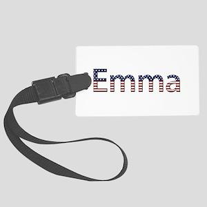 Emma Stars and Stripes Large Luggage Tag