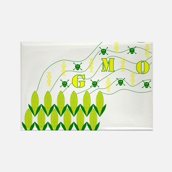 Genetic Pollution Rectangle Magnet