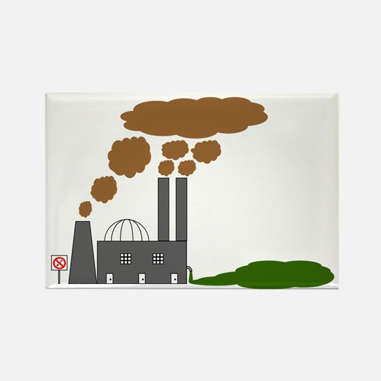 No Smoking? Rectangle Magnet (100 pack)