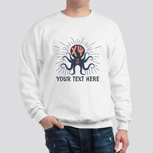 Chi Psi Octopus Personalized Sweatshirt
