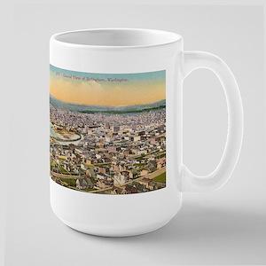 Bellingham Washington 15 oz Ceramic Large Mug