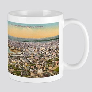 Bellingham Washington 11 oz Ceramic Mug