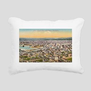 Bellingham Washington Rectangular Canvas Pillow