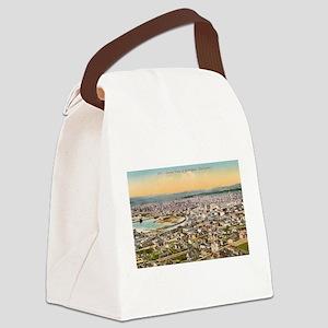 Bellingham Washington Canvas Lunch Bag