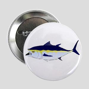 """Bluefin Tuna fish 2.25"""" Button"""