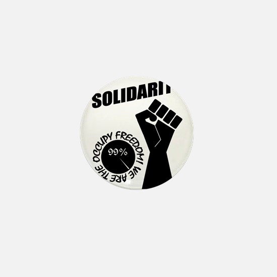 Occupy Freedom! Mini Button