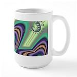 Floating Hearts Large Mug