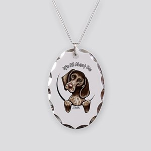 Pointer IAAM Necklace Oval Charm