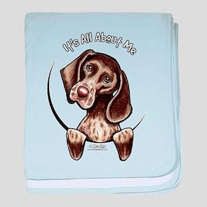 Pointer IAAM baby blanket
