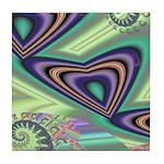 Floating Hearts Tile Coaster