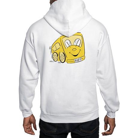 AMY'S YELLOW BUS Hooded Sweatshirt
