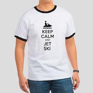 Keep calm and jet ski Ringer T