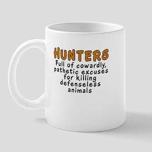 Hunters: Cowardly excuses - Mug