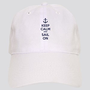 Keep calm and sail on Cap