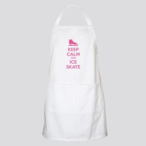 Keep calm and ice skate Apron
