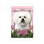 Mothers_Day_Pink_Tulips_ Sticker (Rectangle 50 pk)