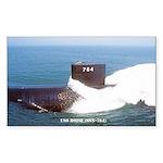 boise sticker Sticker (Rectangle 50 pk)