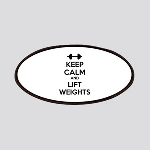 Keep calm and lift weights Patches