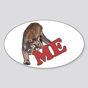 ME Oval Sticker
