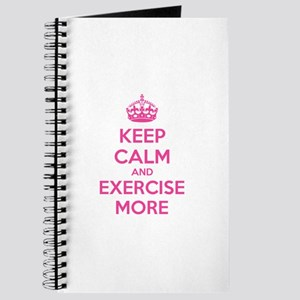 Keep calm and exercise more Journal