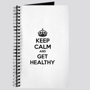 Keep calm and get healthy Journal