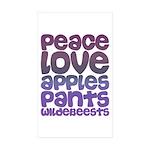 applespants-grad Sticker (Rectangle 10 pk)